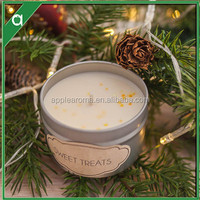 Wholesale Tin Jar Aroma Scented Candle With Private Label