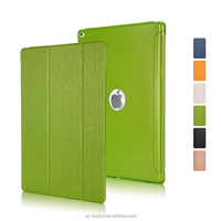Factory Price Smart Magnetic PU Cover +PC Back Case for iPad Pro 12.9 ""