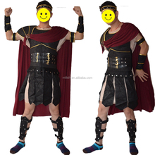 Party carnival men adult medieval roman knight fancy dress costume MAB-112