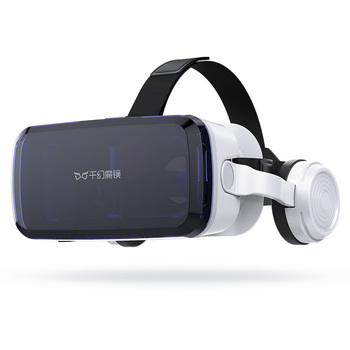 VR Shinecon adult 3d video glasses with wireless headphones