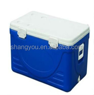 20L Green plastic ice cooler box/picnic lunch ice cooler
