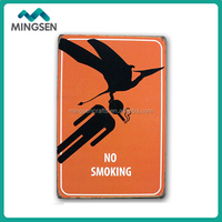 wholesale factory price home decorative metal tin sign wall art hanging signs