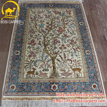 3.3x5ft Tree of life exquisite handmade silk carpets wall tapestry