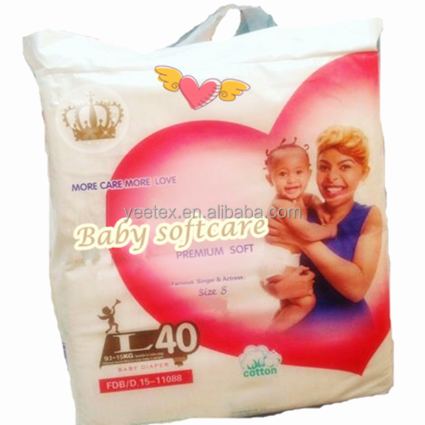 Hot-selling OEM baby softcare baby diaper kenya