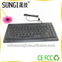 Ultra Slim Mechanical Computer Keyboard PC