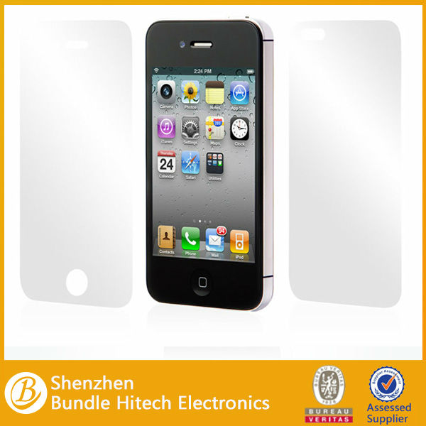 High quality protective clear screen protector for apple iphone 5s,for iphone 5s screen protector