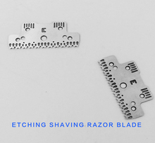 chemical etching single side razor blade