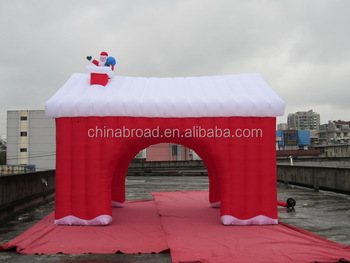 6x4x4m christmas inflatable tent