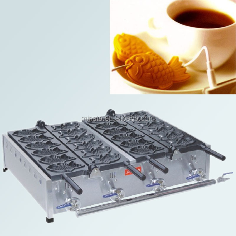 public agent we have many types(Gas and electric): Hot Sale korean fish shaped cake pans taiyaki maker for Sale