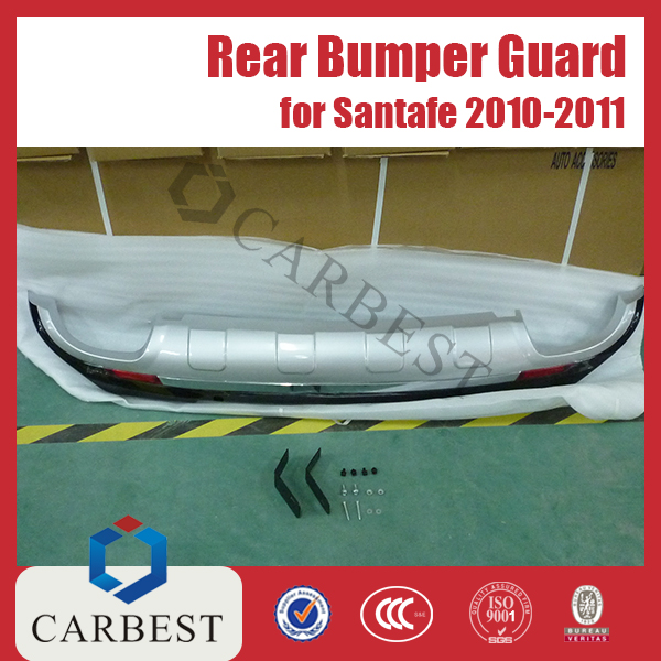 High Quality ABS Rear Bumper Guard for Hyundai Santafe 2010-2011