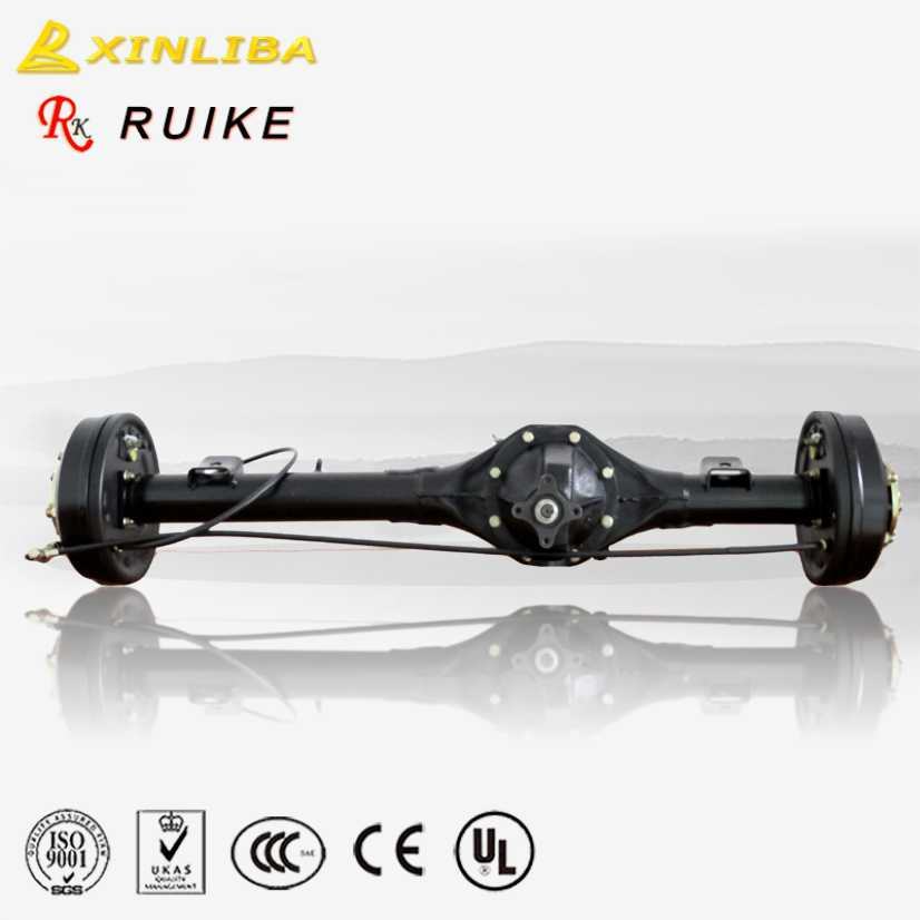 China gasoline three wheel motorcycle spare parts 200cc tricycle rear <strong>axle</strong>