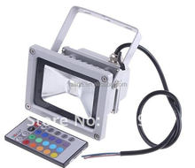 new design 10W 85-265V RGB LED Flood Light Projection Flash Landscape Lighting Color Change U61