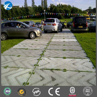 UHMW access mats and temporary roadways of ground protection system