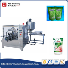 KEDI MACHINERY Rotary Scour Pouch Packing Machine for Liquid and Paste