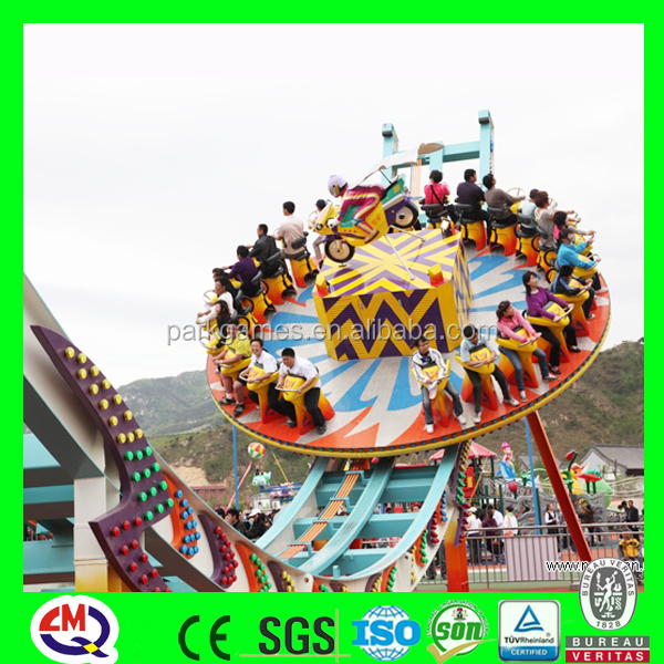 Aqua park equipment flying UFO names of amusement park rides