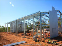 steel structure building portable house