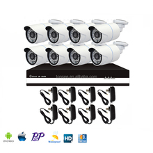 ip66 outdoor day and night vision ip p2p mobile phone view cct vcamera 8ch nvr kits 1080p