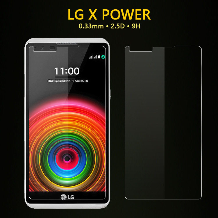 Anti-Scratch Reinforced Glass screen protector for LG X POWER oem/odm