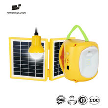 Hot Selling Brighter Green Energy Camping Solar Lamp Lantern With Hanging Bulb And Phone Charger For Africa
