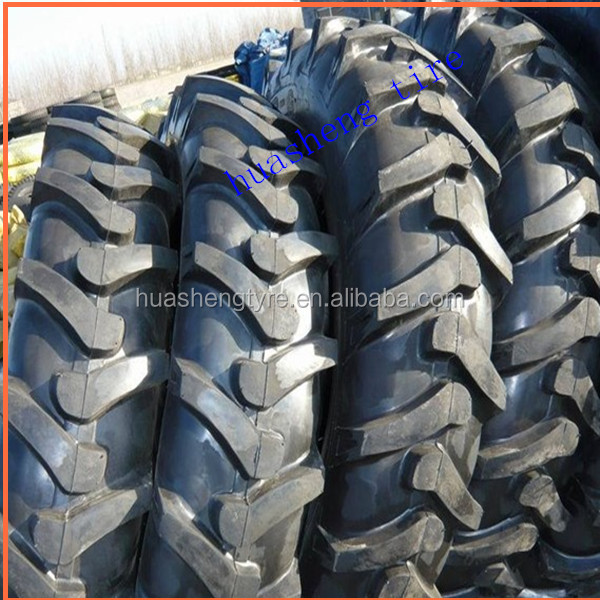Hot sale bias agricultural tractor tire 11.2-24 herringbone tire used for farm machinery