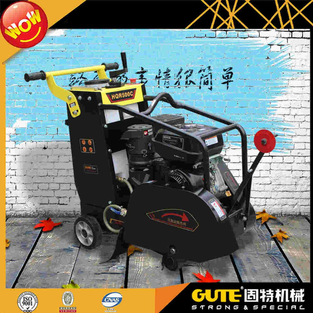 reliable hot sell honda engine asphalt road cutter machine HQR500C