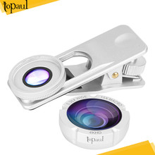 2017 Quality 0.4x super wide angle glass lens for mobile phone camera