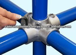 galvanized pipe connection clamp