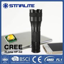 STARLITE 164 lumens 8Hz flash 200lumen cree led torch flashlight