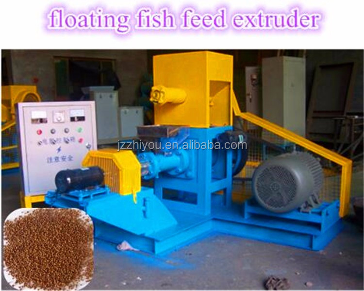 different capacity Animal floating fish feed pellet machine