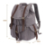 Fashion style PU leather add Canvas School Backpack City Backpack