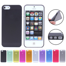 Low price 0.3mm Ultra Thin Clear PC phone Case cover for iPhone 5/5s , for Apple iPhone 5 back cover case