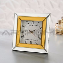 ARTHOME Elegance Attractive Design Delicate Colors Antique Table Clock