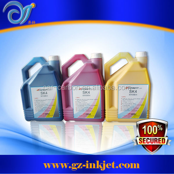 6 colors Large format printer Infiniti sk4 ink infiniti sk4 solvent ink