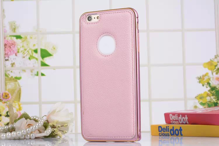 Genuine Real Leather Back Cover Aluminum Bumper Frame Metal Case for Samsung galaxy Note Note 4 3