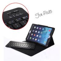 Detachable foldable case covers for ipad keyboard case bluetooth aluminum alloy keyboards