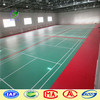 China wholesale indoor badminton court green lychee PVC flooring