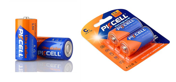Top Quality Aa , Aaa Lr14 C Am2 Size Dry Battery Alkaline Battery