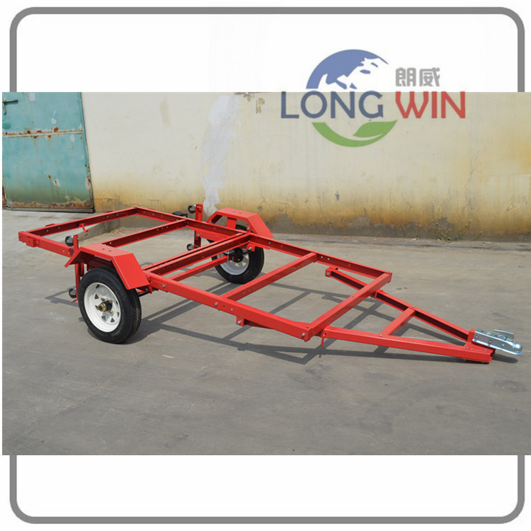 1720lbs metal popular utility heavty duty folding trailer