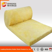 soundproof insulation glass wool felt from good factory