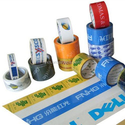 No noisy transparent 48MM Width 2mil 54micron Thick Packing Tape With Printed Logo