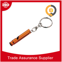 Many specialized equipment aluminum alloy survival camping wood train whistle