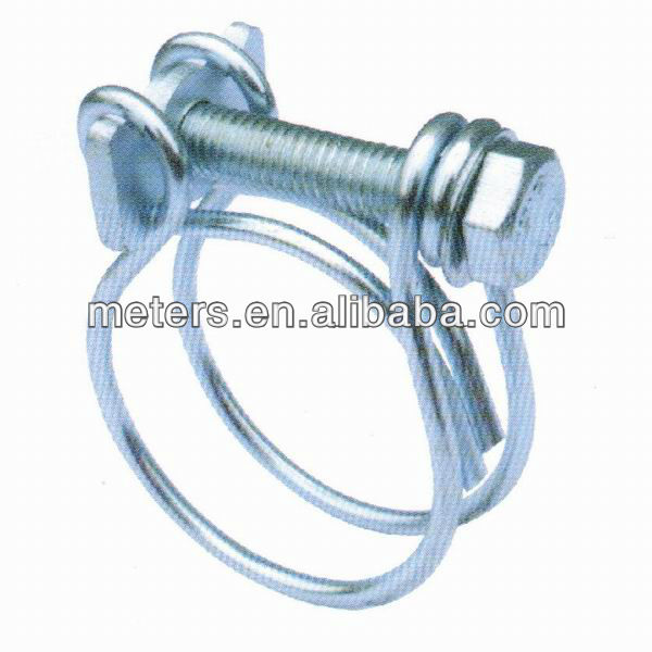 Steel Double Wire Hose Clamp