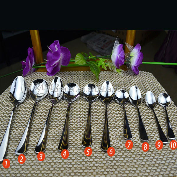 bulk wholesale high qualty stainless steel spoon