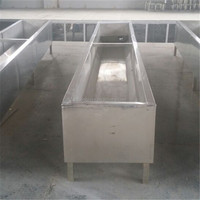 Dairy Farm Stainless Steel Drinking Water Tank / Drinking Trough