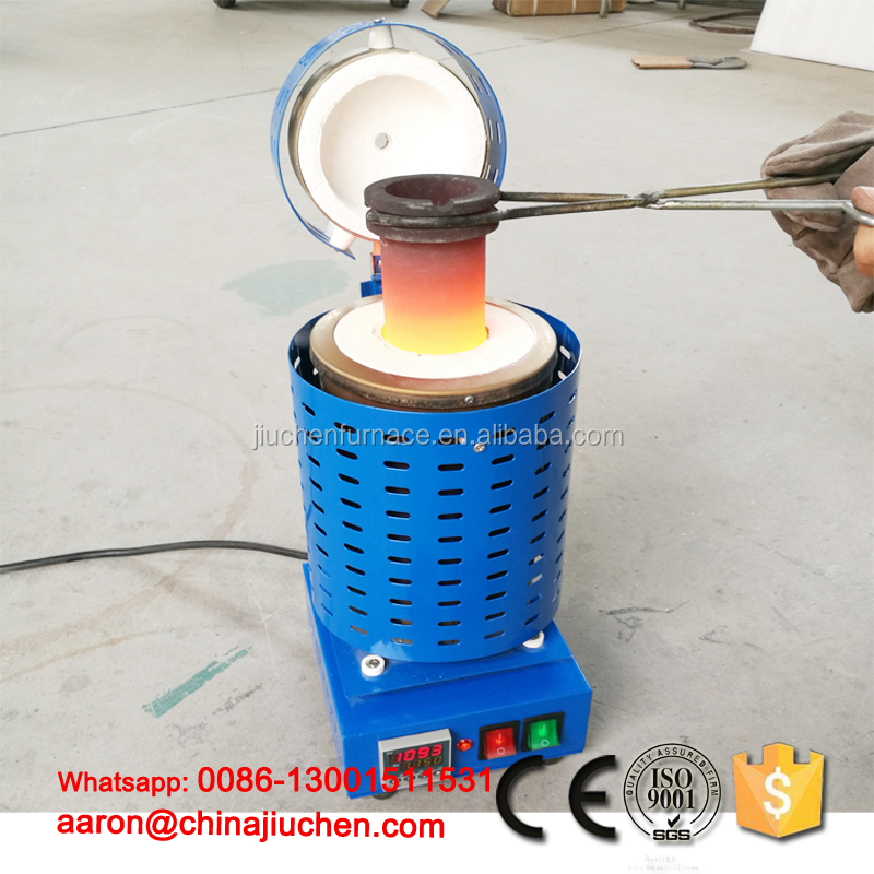 factory price new design cast metal scrap melting industrial furnace