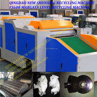 Full closed new margasa grade textile cotton denim hosiery knitting fabric waste recycling machine