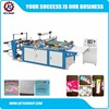 KTHC-C hot cutting side sealing biodegradable plastic bag making machine