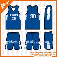 Anti-bacterial basketball training jersey customized