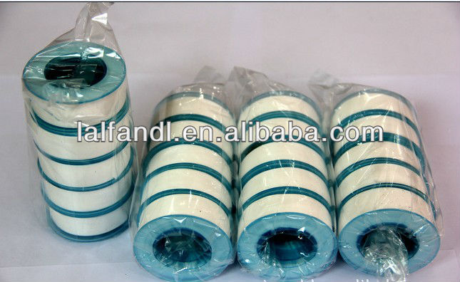 1/2'' *0.003'' ptfe thread seal tape with white tape green spool