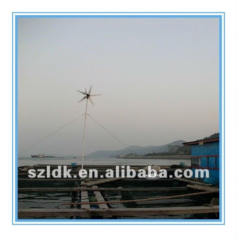 400W wind turbine's parts only for interested in